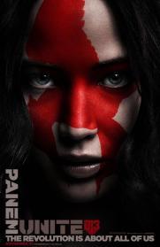 Katniss (Jennifer Lawrence) // Yahoo