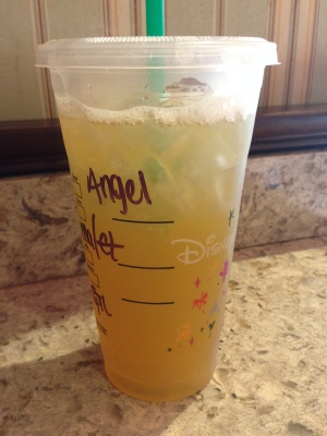 Summer calls for Disney & mango green tea lemonades.
